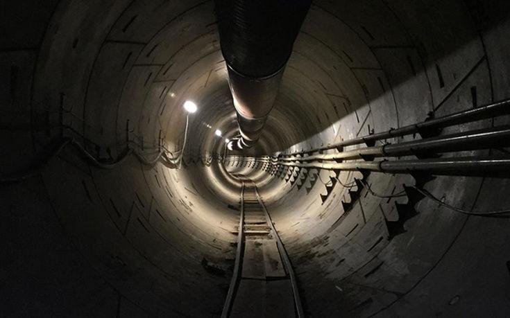 Το τούνελ που σκάβει ο πάντα οραματιστής Elon Musk