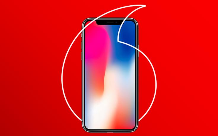 Το επετειακό και πολύ-αναμενόμενο iPhone X έρχεται στη Vodafone