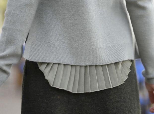 Η επιστροφή της πλεκτής φούστας