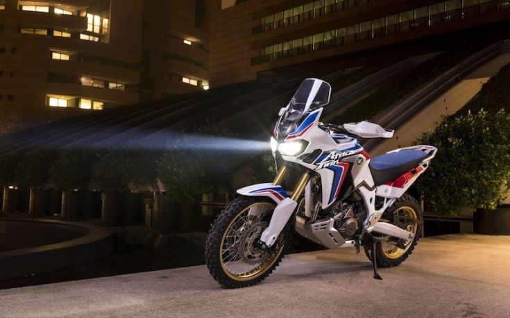 Africa Twin Adventure Sports Concept