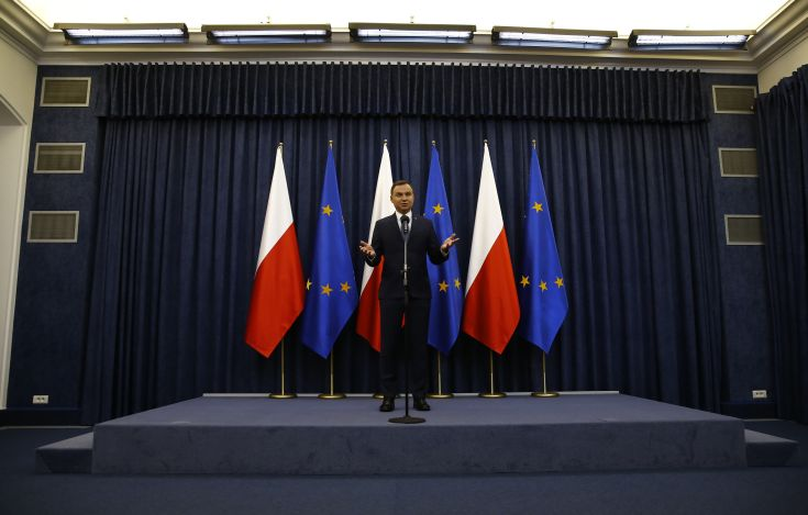 Στην Αθήνα σήμερα ο πρόεδρος της Πολωνίας