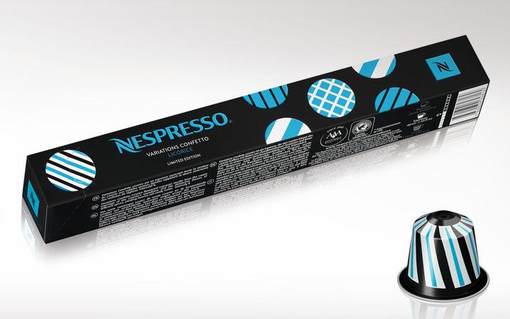 Μοιραστείτε τις Limited Edition Variations Confetto και τα εορταστικά δώρα Nespresso με τους αγαπημένους σας