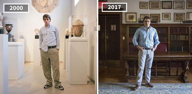 Πόσο αλλάζουν οι άνθρωποι μέσα σε 17 χρόνια;