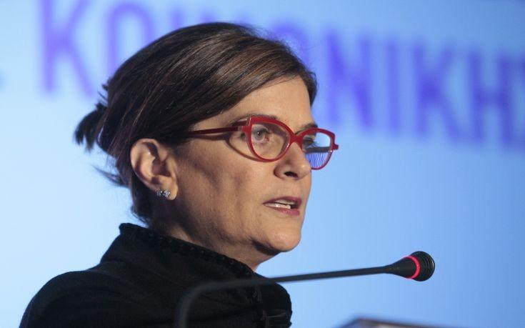 Αντωνοπούλου: Κάτω από 20% η ανεργία το 2018