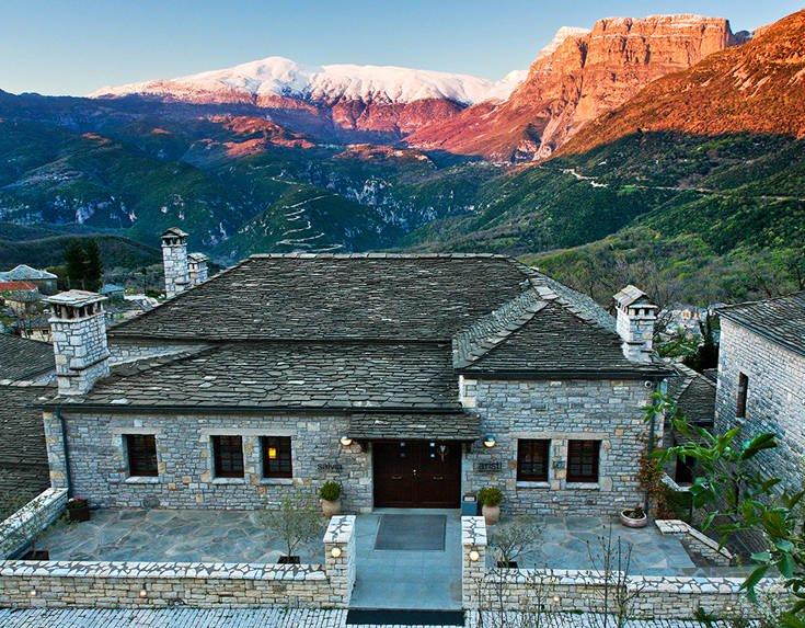 Παγκόσμια πρωτιά για το ελληνικό Aristi Mountain Resort + Villas