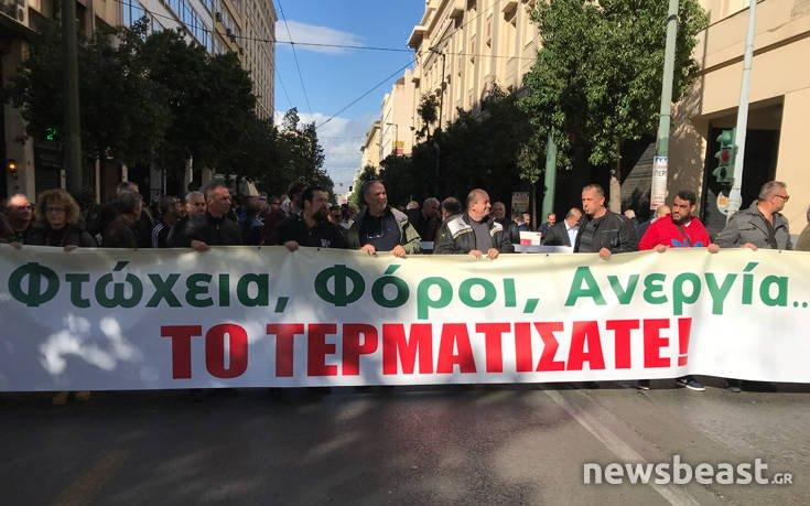 «Μαζική απεργία κατά της λιτότητας του Τσίπρα»