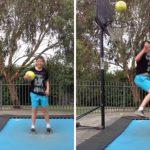 Μπάσκετ και τραμπολίνο δε συνδυάζονται