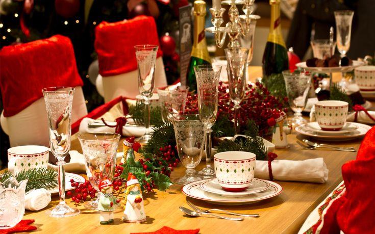 table christmas dining tabel xmas dinner