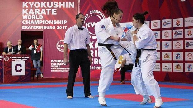 Μαρία Παπαδόπουλου: η παγκόσμια πρωταθλήτρια Kyokushin Karate που σάρωσε στην Ρωσία