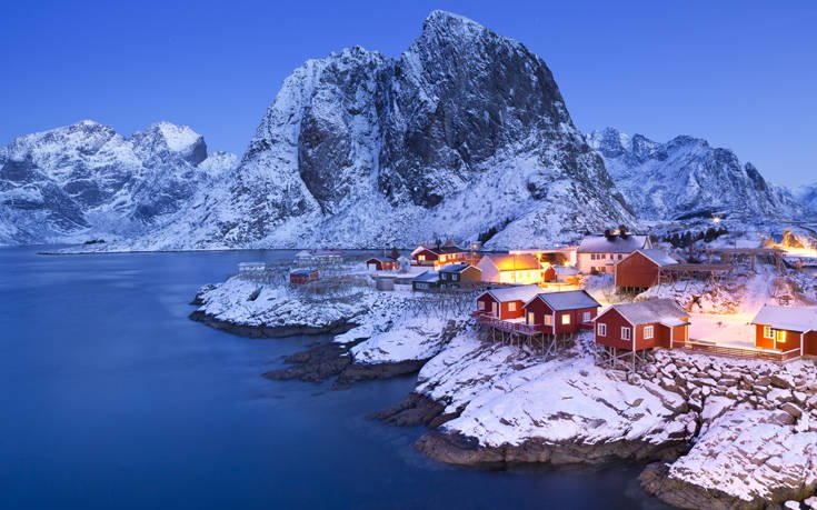 Hamnoy Νορβηγία