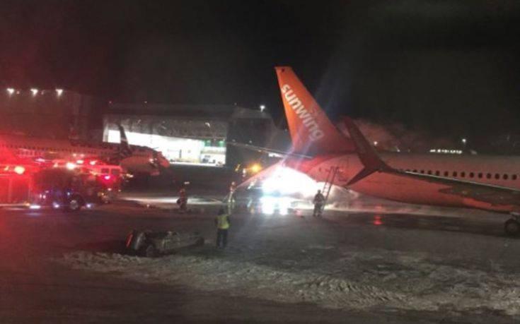Δυο αεροπλάνα συγκρούστηκαν στο αεροδρόμιο του Τορόντο