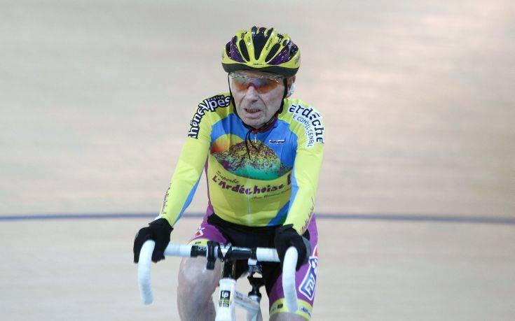 Σε ηλικία… μόλις 106 ετών αποσύρεται ο σούπερ ποδηλάτης Ρομπέρ Μαρσάν