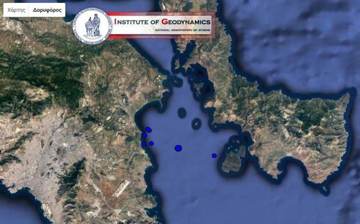 Μικρές διαδοχικές σεισμικές δονήσεις ανησύχησαν την Αττική