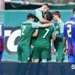 """Κ20: Έκανε """"μπλακ τζακ"""" ο Παναθηναϊκός, 2-0 την ΑΕΛ στη Λάρισα"""