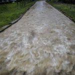 Μεγάλα προβλήματα στα Τρίκαλα εξαιτίας των έντονων βροχοπτώσεων