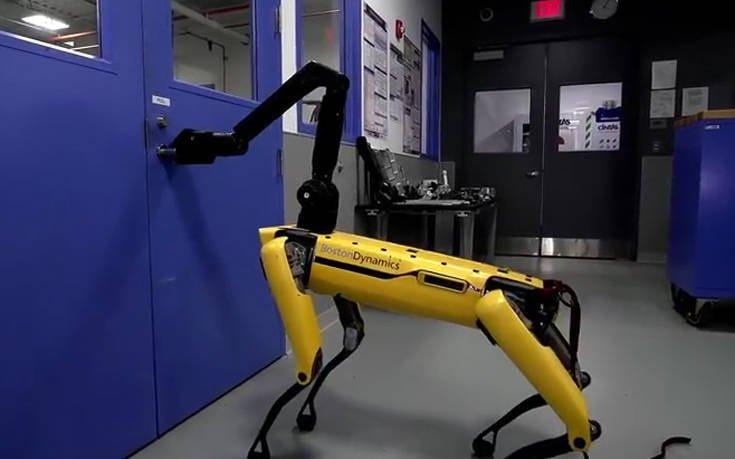 Το ρομποτικό σκυλί και οι τρομακτικές ανησυχίες στα social media