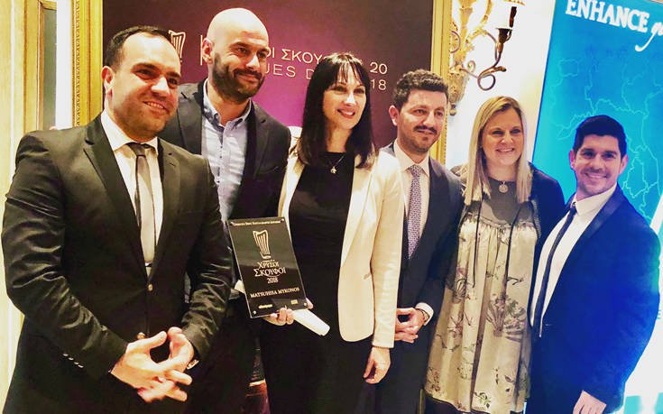 Βραβείο για τη Μύκονο στους Χρυσούς Σκούφους 2018