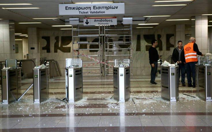 Επίθεση αγνώστων στους σταθμούς του ΗΣΑΠ σε Πευκάκια και Πετράλωνα