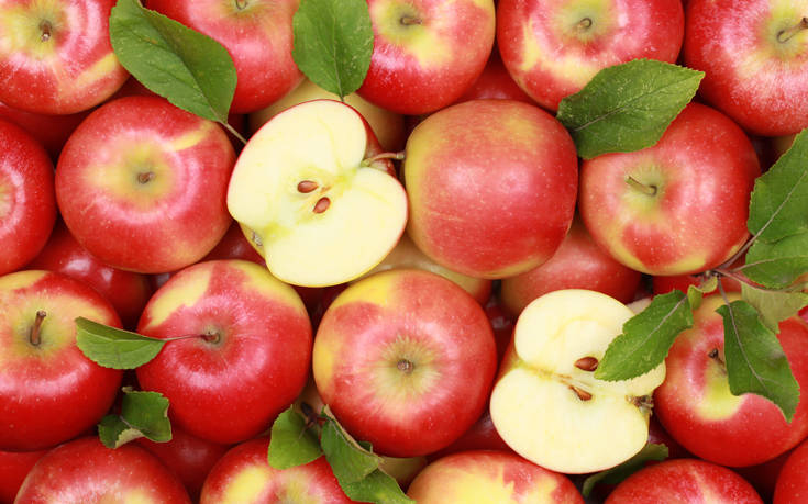 Δεσμεύτηκαν 3,5 τόνοι μήλων
