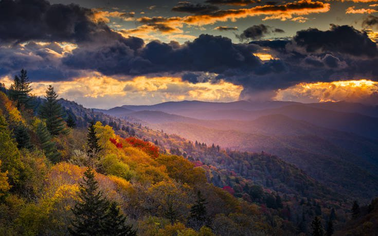 Great Smoky Mountains ΗΠΑ