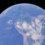 Το Google Earth είδε μια παράξενη λευκή γραμμή 21.000 χιλιομέτρων