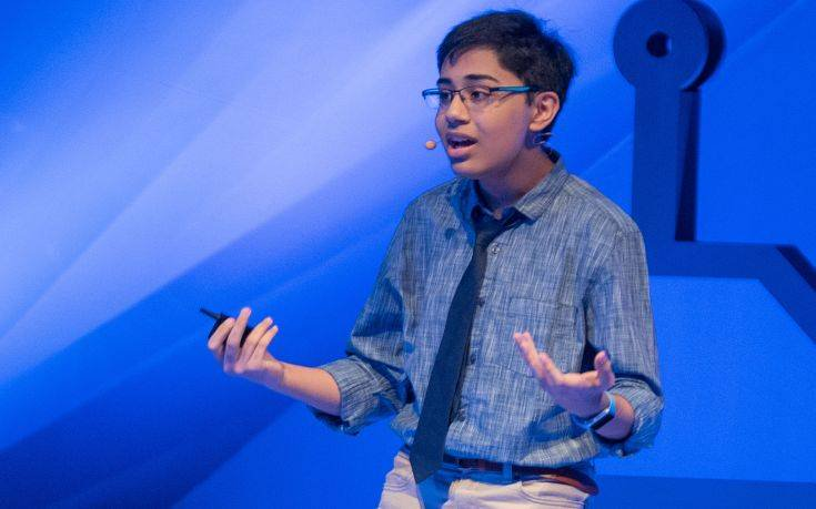 Ο 14χρονος «γκουρού» της τεχνητής νοημοσύνης που καθήλωσε το κοινό
