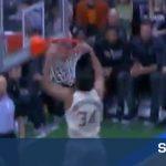 Μπήκε… αγριεμένος ο Αντετοκούνμπο απέναντι στους San Antonio Spurs