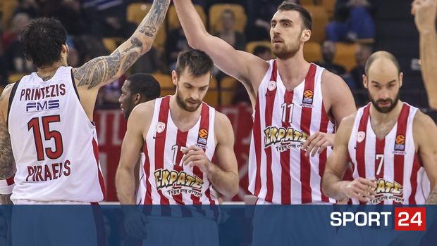 Τα σενάρια για τον Ολυμπιακό εν όψει των playoffs της EuroLeague
