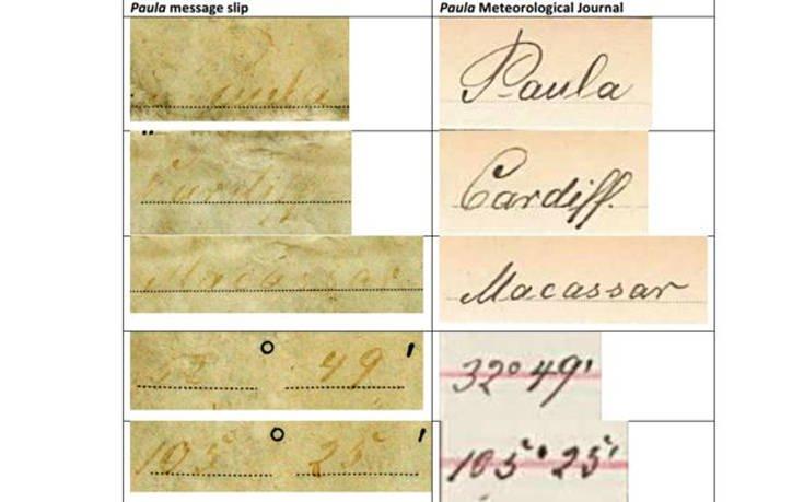 Βρέθηκε μήνυμα σε μπουκάλι που είχε πέσει στη θάλασσα το 1886