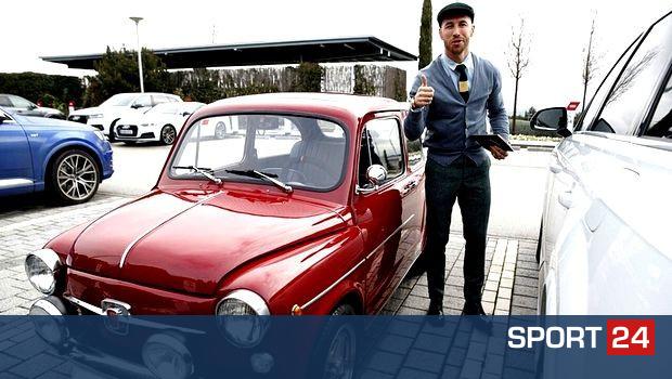 Με vintage όχημα στην προπόνηση ο Σέρχιο Ράμος