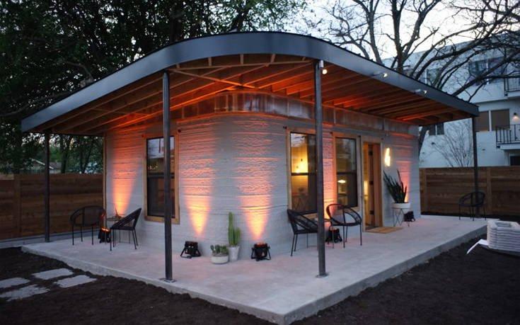 Το τρισδιάστατα εκτυπωμένο σπίτι που θέλει να δώσει στέγη σε όσους δεν έχουν