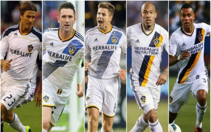 Ποδοσφαιρικά αστέρια στο Λος Άντζελες