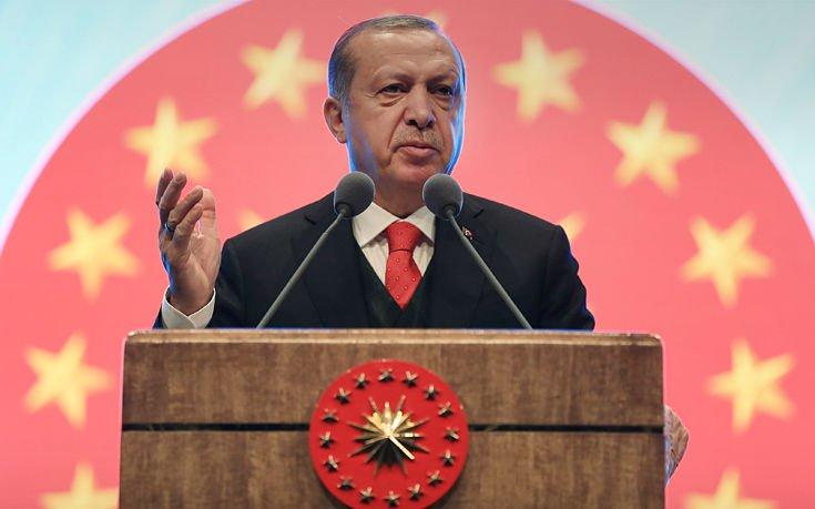 Ερντογάν: Μέχρι το απόγευμα το Αφρίν θα έχει κυριευθεί