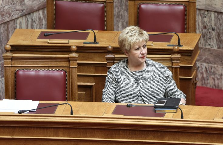 Κόλλια-Τσαρουχά: Δεν υπάρχει Ελλάδα χωρίς Μακεδονία και Μακεδονία χωρίς Ελλάδα