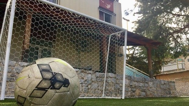"""Αθλητές έφτιαξαν γήπεδα για το """"Χαμόγελο του Παιδιού"""""""