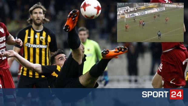 """Το γκολ του Λάζαρου θύμισε Τζορκαέφ στην """"Gazzetta dello Sport"""""""