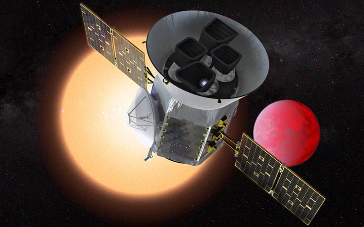 Εκτοξεύεται σήμερα το τηλεσκόπιο TESS που θα αναζητά εξωπλανήτες