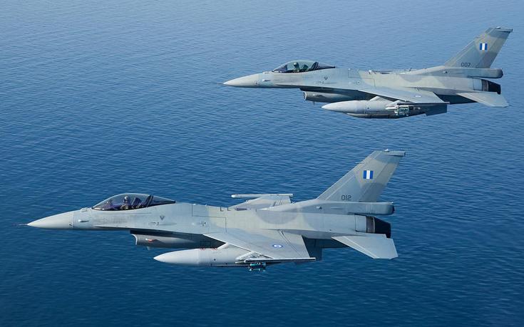 Ελληνικά F16 αναχαίτισαν τούρκικο drone