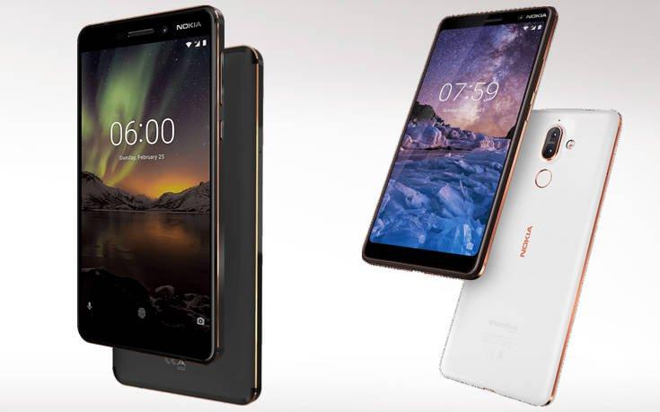 Τα νέα Nokia 6.1 και Nokia 7 Plus ήρθαν στην WIND