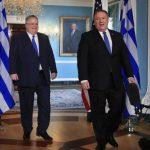 Εύσημα Πομπέο σε Κοτζιά για το ρόλο της Ελλάδας στην Ανατολική Μεσόγειο