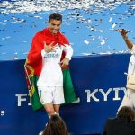 Το φιλί της Τζορτζίνα στον Κριστιάνο Ρονάλντο μετά την κατάκτηση του Champions League