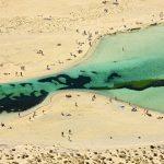 Εξωτικό τοπίο στη λιμνοθάλασσα του Μπάλου
