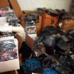 Κατασχέθηκαν 5,5 τόνοι παράνομων προϊόντων στον Πειραιά