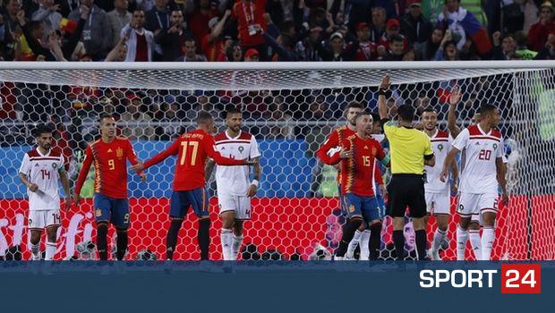 Πονηριά των Ισπανών: εκτέλεσαν από την άλλη πλευρά το κόρνερ στο 2-2 (VIDEO)