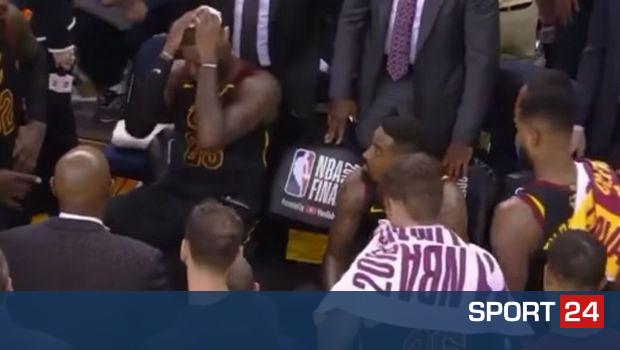 Τα αμοντάριστα πλάνα από τον πάγκο των Cavaliers στον πρώτο τελικό