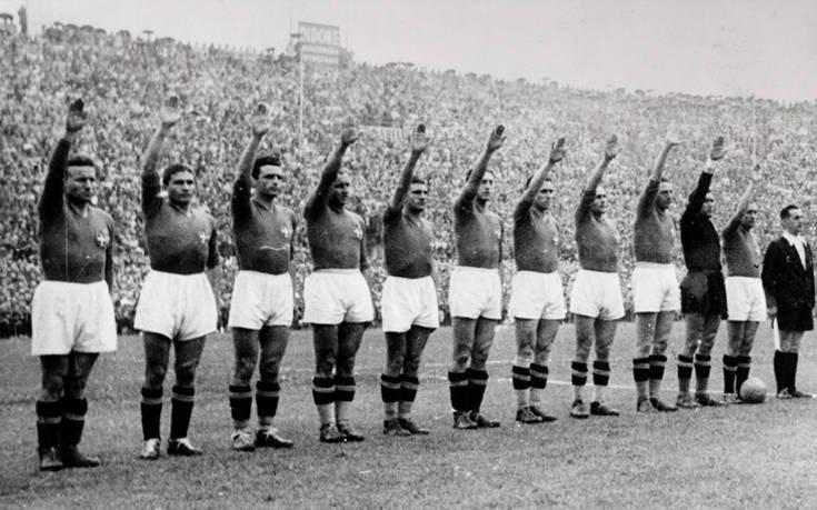 Όταν ο φασισμός έβαψε με το χρώμα του το Παγκόσμιο Κύπελλο