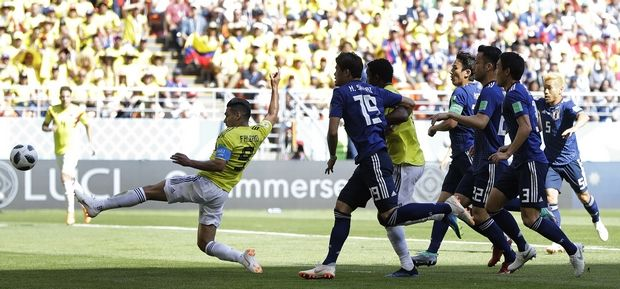 """Οι Ιάπωνες γλίτωσαν το """"χαρακίρι"""", 2-1 την Κολομβία"""