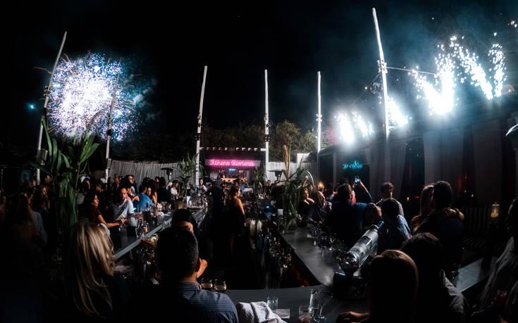 Μια μαγική βραδιά στο Athens Riviera Fireworks Festival