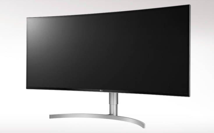Η νέα 38 ιντσών κυρτή οθόνη της LG εντυπωσιάζει με την εκπληκτική ποιότητα εικόνας