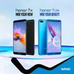 Τα απίστευτα Honor 9 Lite και Honor 7X στην WIND